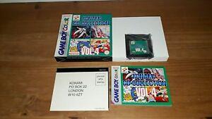 Jeu Nintendo Game Boy Gameboy Color Konami GB Collection Vol 4 complet