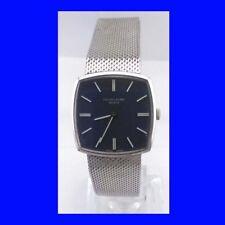 Vintage Favre Leuba Silver Retro Gents Bracelet Wrist Watch & Box 1979