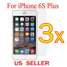 """3x Clear LCD Screen Protector Guard Cover Film For Apple iPhone 6s Plus 5.5"""""""