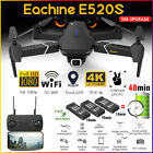 Eachine E520S GPS WIFI FPV Foldable RC Drone Quadcopter w/ 5G 1080P/4K H q ee