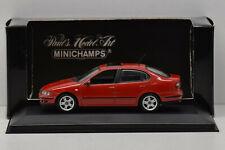SEAT TOLEDO 1999 FLASH RED MINICHAMPS 1/43 NEUF EN BOITE