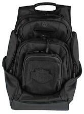 Harley-Davidson Black Bar & Shield 8 Pocket Deluxe Backpack BP2000S-BLKBLK