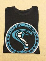 Pre owned Carroll Shelby Cobra Graphic Cotton Blend Crew Neck T Shirt Sz L