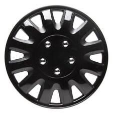 Motion 14 Inch Wheel Trim Set Gloss Black Set of 4 Hub Caps Covers - TopTech