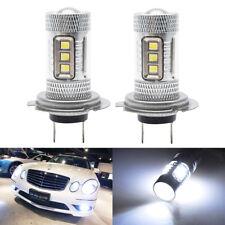 2X H7 15W LED HEADLIGHT DRL FOG DRIVING LIGHT BULBS CAR CANBUS LAMP WHITE 6000K