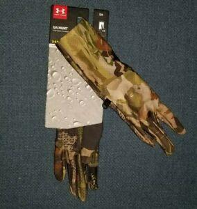Under Armour UA Hunt Liner Storm™ ColdGear® Barren Camo Women's Outdoor Gloves S