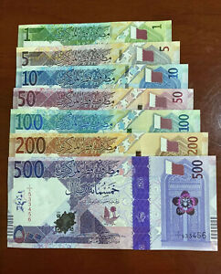 State of Qatar banknote 2020 - UNC full set