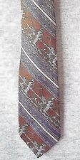 "CLASSIC NECKTIE ""FISHERMAN SUCCESS""  100% POLYESTER TEXTURED   NEW"