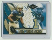 LARRY FITZGERALD 2004 Press Pass Collectors Series BIG NUMBERS #BN6 Rookie RC