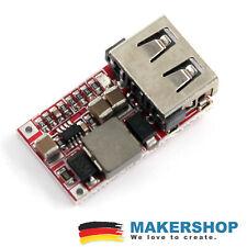 DC USB Step Down Spannungswandler 6-24V zu to 5V 3A USB Arduino Spannungsregler