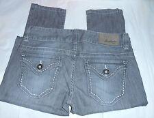 Guess Junior Daredevil Skinny Leg Denim Jeans Steel Ice Wash 26 NWT
