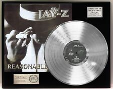 Jay-Z Reasonable Doubt Platinum LP Record Display Limited Edition USA Ships Free