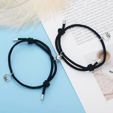 2pcs Couple Magnet Attract Each Other Men Women Bracelet Jewelry Lover Gift New