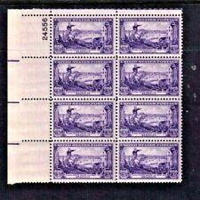 """New ListingUnited States Scott # 1003 """" Battle of Brooklyn """" 3 Cent Plate Block (8) Mint Nh"""