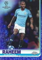 2018-19 Topps Chrome UEFA Champions League - Base Purple Parallel /250- You Pick
