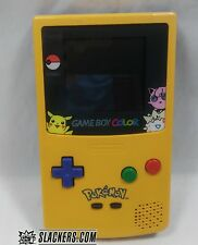 Nintendo Game Boy Color Pokémon Edition Yellow Handheld System Tested!