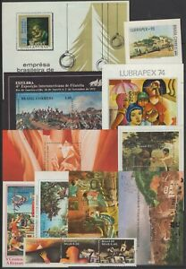 AE141060/ BRAZIL - PAINTINGS / COLLECTION 1922 - 1989 MNH CV 303 $