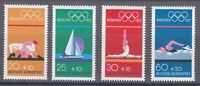 Germany 1972 MNH Mi 719-722 Sc B485-B488 20th Olympic Games, Munich **