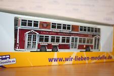 Rietze 67743, MAN Lions City DL, BVG-Bus, Scandic-Hotels, neu, OVP, Stadtbus