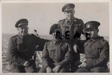 WW2 Soldier Group Middle East 1944 REME Royal Mechanical & Electrical Engineers