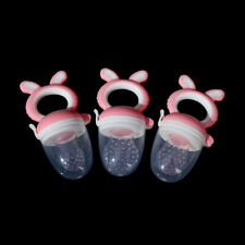Teether silicone pacifier fruit feeder food nibbler feeder soother nipple  adSJ