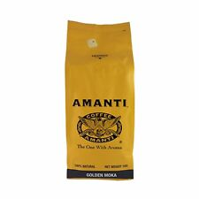 Amanti Coffee Beans Golden Moka 1kg Bag Rich Complex Roasted Gourmet Smooth