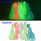 Luminous Glow In The Dark Shoelace Flat Athletic Shoe Lace party 80-160cm pair