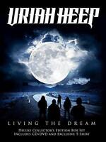 Uriah Heep - Living The Dream (Collector's Box) (NEW CD+DVD+T-SHIRT)