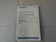 CAT Caterpillar 215 Excavator Operation Maintenance Manual SEBU5513-01