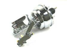 GM Chevy Disc Drum 8'' Dual Power Brake Conversion Kit Chrome BPB-1004KIT
