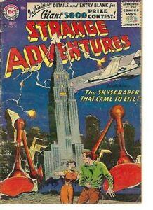 STRANGE   ADVENTURES  No 72  BY NATIONAL COMICS  PUBLICATIONS  VG//(3.0) 1956