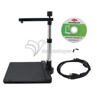 K1000 HD LED Scanner 10MP A3 A4 A5 Document Book Photo ID Scanning Camera