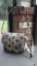 MARC JACOBS Dotty Black & Beige Snake Embossed PVC Crossbody Bag