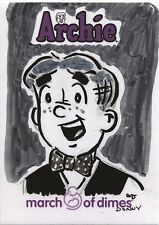5finity Archie Comics March of Dimes Sketch Card by Wayne Dyck