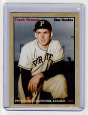 Frank Thomas '53 Pittsburgh Pirates National League Top Rookie All Star slugger