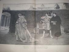 Les nuages qui se rassemblent autour du soleil couchant J Seymour Lucas 1901 Wolsey Imprimer