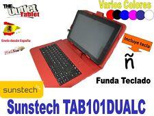 "FUNDA TECLADO TABLET SUNSTECH TAB101DUALC 10,1"" KEYBOARD MICRO-USB"