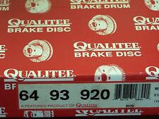Qualitee R93920 Rear Disc Brake Rotor Regal Lumina Cutlass Grand Prix