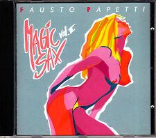 FAUSTO PAPETTI - MAGIC SAX VOL. II - CD (COME NUOVO)