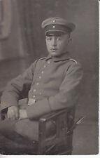 Soldat allemand guerre 14-18 photo sur CPA lot 10