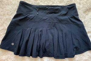 Lululemon Sz 6 Reg Circuit Breaker Skirt - Nocturnal Teal