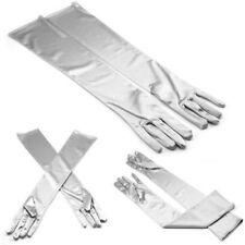 Guantes de color principal plata para disfraces y ropa de época