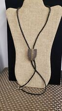BOLO TIE NECKLACE LEATHER