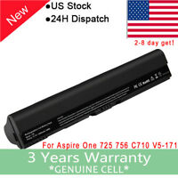 New 11.1V Battery Acer Aspire V5-121 V5-131 V5-171 AL12A31 AL12B72 AL12B32 B113