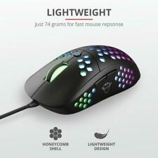 Trust GXT 960 Gaming Mouse, Ultra-Light, RGB, Optical, 10000dpi, Wired, LED, USB