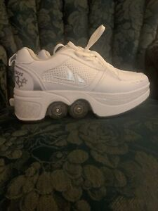 roller skate shoes retractable
