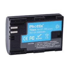 Phottix Titan LP-E6 2000mAh Rechargeable Battery for Canon 5D Mark II, 7D
