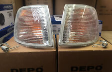 Ford Sierra 1987 onwards 1 pair of clear front indicators made by DEPO