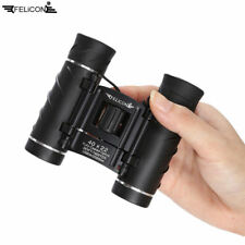 UK FELiCON 40×22 Pocket Foldable Binoculars Zoom Lens Hunting Hiking Outdoor