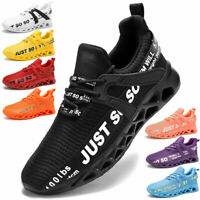 Men's Outdoor Sneakers Running Casual Athletic Trainers Tennis Walking Shoes Gym